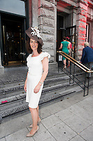 31/07/2014 There was an excellent turnout of fashionable ladies at Hotel Meyrick for their Most Stylish Lady Competition, judged by two of Ireland&rsquo;s leading fashion commentators Sonya Lennon  and Brendan Courtney .  At the event was Noreen D'Arcy<br /> Picture:Andrew Downes
