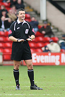 Photo: Mark Stephenson.<br />Walsall v Barnet. Coca Cola League 2. 24/02/2007. Referee Mr G Williams
