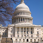 West lawn of the United States Capitol Building, Washington DC<br />