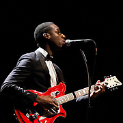 Fort Worth soul singer Leon Bridges performs the final show of his tour at The Majestic Theatre in Dallas.(Special to the Star-Telegram/Rachel Parker)