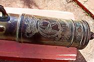 Cannon in Cardenas, Matanzas, Cuba.