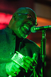 The G-MEN Soul Band at Meadow Farm.Voclas - C G Morris.16 February 2013.Image © Paul David Drabble