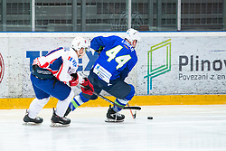 Miha LOGAR (SLO) during OI pre-qualifications of Group G between Slovenia men's national ice hockey team and Croatia men's national ice hockey team, on February 7, 2020 in Ice Arena Podmezakla, Jesenice, Slovenia. Photo by Peter Podobnik / Sportida