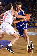 Antibes 21/06/1999<br /> Campionati Europei di Basket Francia 1999<br /> Italia-Croazia<br /> Alessandro De Pol