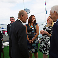 Duke of Edniburgh visit to Island Sailing Club