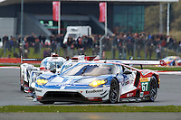 Marino Franchitti (GBR) / Andy Priaulx (GBR) / Harry Tincknell (GBR) #67 Ford Chip Ganassi Racing Team UK Ford GT, during during the first hour or the race  as part of the WEC 6 Hours of Silverstone 2016 at Silverstone, Towcester, Northamptonshire, United Kingdom. April 17 2016. World Copyright Peter Taylor.