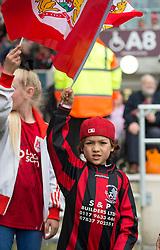 Spectator at the Sky Bet Championship match between Bristol City and Birmingham City at Ashton Gate - Mandatory by-line: Paul Knight/JMP - 07/05/2017 - FOOTBALL - Ashton Gate - Bristol, England - Bristol City v Birmingham City - Sky Bet Championship