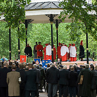 the Annual Parade and Service of The Combined Cavalry Old Comrades Association at the Cavalry Memorial in Hyde Park on Sunday 13 May 2007.