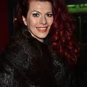London,UK, 22th January 2015 : Claire Robert attends the House of Ho 1st Birthday Party at Soho, London. Photo by See Li