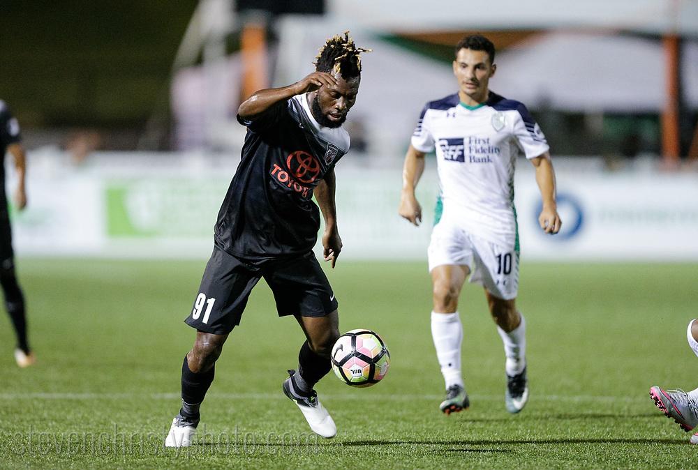August 19, 2017: OKC Energy FC plays San Antonio FC in a USL game at Taft Stadium in Oklahoma City, Oklahoma.