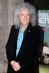 Grosvenor House Hotel, London, September 7th 2016. Celebrities attend the RSPCA's annual awards ceremony recognising the country's bravest animals and the individuals committed to improving their lives. PICTURED: Queen guitarist Brian May
