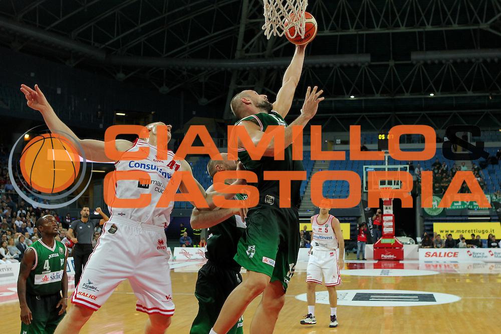 Cusin Marco<br /> Consultinvest VL Pesaro - Sidigas Avellino <br /> Lega BasketSerie A 2016/2017<br /> Pesaro 23102016