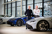 Aston Martin designers shot at the Aston Martin HQ at Gaydon.