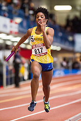 women 4x200 relay, Delaware, Armory Track Invitational Indoor,