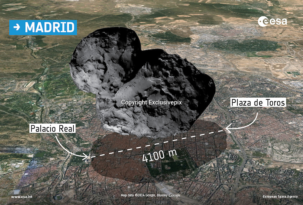 Is comet probe doomed? First picture from surface shows Philae has landed on its side in a CAVE - and without solar power it will die in 30 hours<br /> <br /> In just over 50 years of space exploration humanity has landed spacecraft on Venus, the moon, Mars, Saturn's moon, Titan, and two asteroids. Now a new object can be added to that list: a comet.<br /> But Esa scientists are concerned about the future of the Philae probe after it was revealed that the probe is likely stuck in a cave on the surface of the comet - and it may also be lying on its side.<br /> With limited access to sunlight, and only a maximum of 30 hours of charge in its battery, scientists now face a race against time to get useful data from the probe before it dies - or find a way to recharge its solar panels and keep Philae alive.<br /> <br /> 'If you look at the images we have at the moment, it looks like Philae is resting against a very irregular rock', said mission director Paolo Ferri <br /> <br /> 'There is some speculation about it being in a hole…honestly, we have no idea, because we haven't seen all the images.<br /> 'But what is more important is the attitude [angle] of the lander, and the clock is ticking for us to find this out.'<br /> In a press conference in french Esa also added: 'We are in a kind of cave, not a very flat area.' And they said that the probe has access to 90 minutes of sunlight every 12 hours - which might be enough to keep it alive.<br /> According to Philippe Gaudon, who heads the Rosetta mission at the French space agency CNES, the probe is thought to be at an angle of about 30 degrees on the surface.<br /> <br /> Philae now only has around 20-30 hours of battery life left, before it will attempt to switch to rechargeable ones replenished by sunlight.<br /> Mr Ferri says that all of the non-mechanical instruments on Philae are now working perfectly, but scientists will not be attempting to start up any of the mechanical instruments.<br /> 'If we move something it