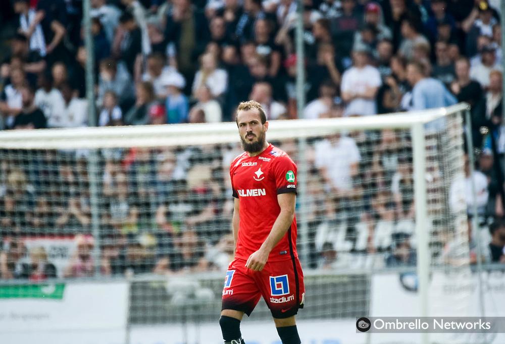 ÖREBRO, SWEDEN - MAY 22: Emir Kujovic of IFK Norrköping during the allsvenskan match between Örebro SK and IFK Norrköping at Behrn Arena on May 22, 2016 in Örebro, Sweden. Foto: Pavel Koubek/Ombrello