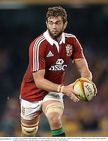 29 June 2013; Geoff Parling, British & Irish Lions. British & Irish Lions Tour 2013, 2nd Test, Australia v British & Irish Lions. Ethiad Stadium, Docklands, Melbourne, Australia. Picture credit: Stephen McCarthy / SPORTSFILE
