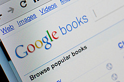 Detail of screen shot from website of Google books website