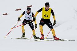 MESSINGER Nico Guide: BURCHARTZ PL, GER, Long Distance Biathlon, 2015 IPC Nordic and Biathlon World Cup Finals, Surnadal, Norway