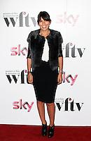 LONDON - DECEMBER 07: Davina McCall attended the Women in Film and TV Awards at the London Hilton Hotel, Park Lane, London, UK. December 07, 2012. (Photo by Richard Goldschmidt)