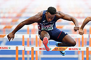 Ruben Gado competes in men decathlon (110m hurdles) during the European Championships 2018, at Olympic Stadium in Berlin, Germany, Day 2, on August 8, 2018 - Photo Philippe Millereau / KMSP / ProSportsImages / DPPI
