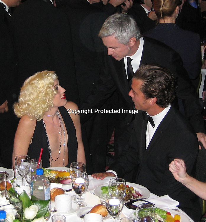 Gwen Stefani, Baz Lurhman &amp; Gavin Rossdale<br />