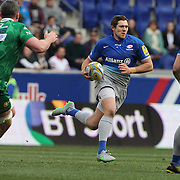 Alex Goode, Saracens, in action during the London Irish Vs Saracens Aviva Premiership Rugby match, the first Premiership game to be played overseas at Red Bull Arena, Harrison, New Jersey. USA. 12th March 2016. Photo Tim Clayton