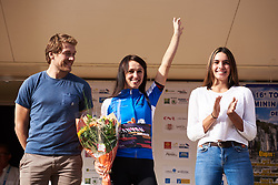 Kasia Niewiadoma (POL) wins the combined classification at Tour Cycliste Féminin International de l'Ardèche 2018 - Stage 7, a 90.9km road race from Chomerac to Privas, France on September 18, 2018. Photo by Sean Robinson/velofocus.com