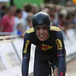 22-06-2016: Wielrennen: NK tijdrijden Mannen: Goeree Overflakee     <br /> MIDDELHARNIS (NED) wielrennen