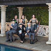 Kristie & Hani Geiss Family Portrait, Christmas, Outdoors, Environmental, Location 2016