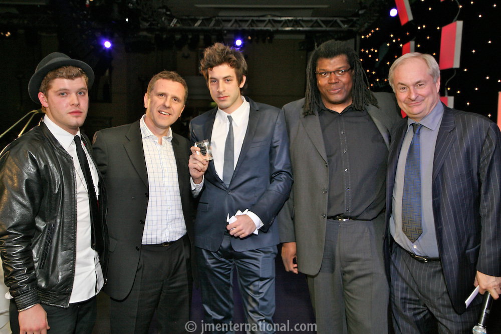 Daniel Merriweather, WKS Geraint Howells, Mark Ronson, Raye Cosbert (Amy Winehouse's manager), Paul Gambaccini.
