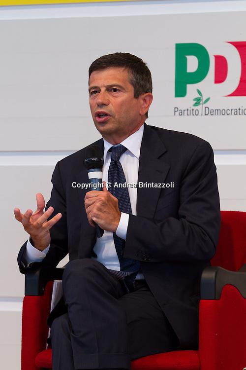 Bologna 01 Settembre 2014 - Festa dell'Unità - Dibattito: Nel cuore della democrazia: le riforme elettorali. Nella foto Maurizio Lupi