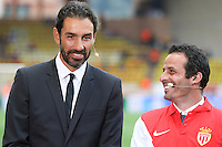 Robert PIRES / Ludovic GIULY  - 22.04.2015 - Monaco / Juventus Turin - 1/4Finale retour Champions League<br />