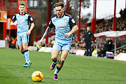 Rotherham United midfielder Jon Taylor (11) during the EFL Sky Bet Championship match between Brentford and Rotherham United at Griffin Park, London, England on 25 February 2017. Photo by Andy Walter.