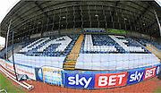Dale, Spin and Win Stand, Spotland Stadium during the Sky Bet League 1 match between Rochdale and Burton Albion at Spotland, Rochdale, England on 30 January 2016. Photo by Daniel Youngs.