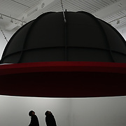 Anish Kapoor showcases 'At the edge of the World II 1998' at Everything at once showcases at  The Studios, 180 The Strand on 8th Dec 2017, London, UK.