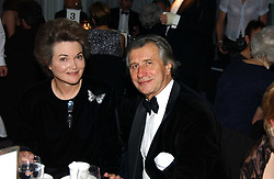 MR ARNAUD BAMBERGER and HENRIETTA, the DOWAGER COUNTESS OF BEDFORD  at the 2004 Cartier Racing Awards in association with the Daily Telegraph, held at the Four Seasons Hotel, London on 17th November 2004.<br />