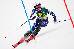 January 7, 2018 - Kranjska Gora, Gorenjska, Slovenia - Asa Ando of Japan competes on course during the Slalom race at the 54th Golden Fox FIS World Cup in Kranjska Gora, Slovenia on January 7, 2018. (Credit Image: © Rok Rakun/Pacific Press via ZUMA Wire)