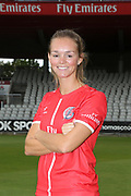 Lancashire Thunders Eve Jones during the media day for Lancashire Thunder at the Emirates, Old Trafford, Manchester, United Kingdom on 17 July 2018. Picture by George Franks.