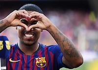FUSSBALL  INTERNATIONAL   SAISON 2018/2019   15.08.2018 Joan Gamper Cup 2018 FC Barcelona - Boca Juniors Ein Herz fuer barca; Melcom Filipe Silva de Oliveira