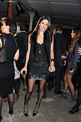 ZARA SIMON at a party to celebrate the launch of the new Vertu Constellation phone - the luxury phonemakers first touchscreen handset, held at the Farmiloe Building, St.John Street, Clarkenwell, London on 24th November 2011.