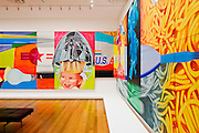 New York City. MOMA, The Museum of  Modern Art. F-111 by James Rosenquist (1964-65).
