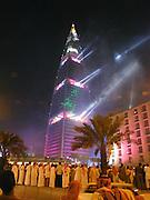 Opening of Al Faisaliah. May 2000.  Riyadh, Saudi  Arabia. © Copyright Photograph by Dafydd Jones 66 Stockwell Park Rd. London SW9 0DA Tel 020 7733 0108 www.dafjones.com