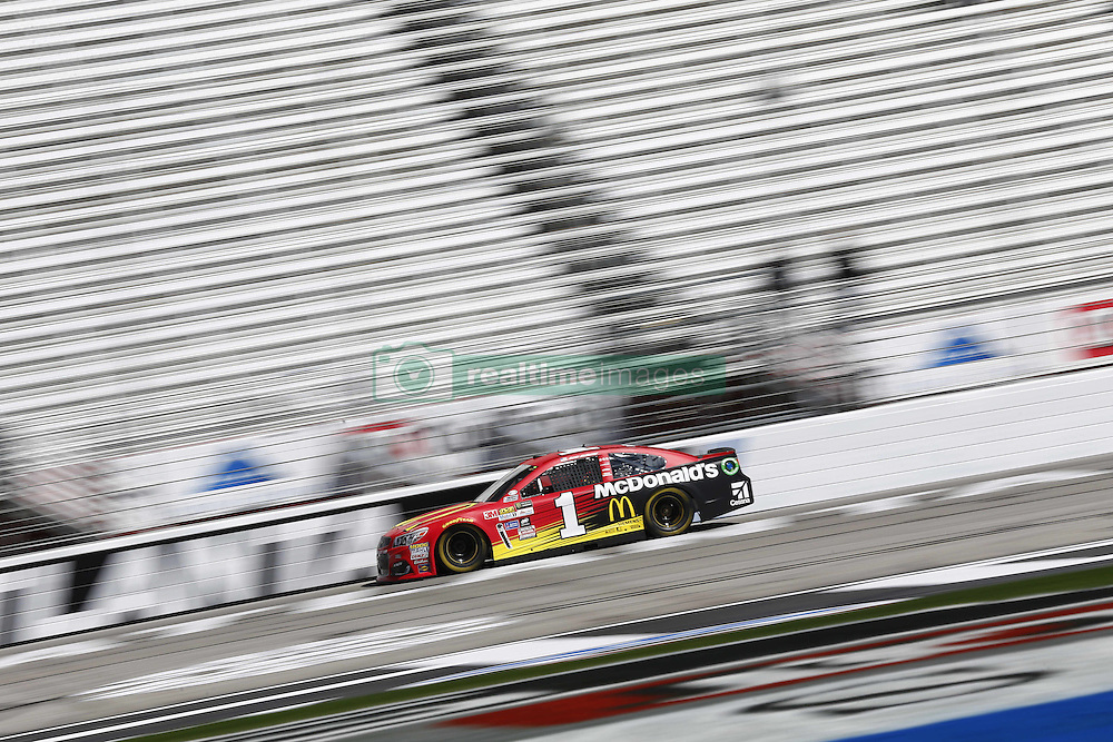 March 3, 2017 - Hampton, Georgia, United States of America - March 03, 2017 - Hampton, Georgia, USA: Jamie McMurray (1) takes to the track to practice for the Folds of Honor QuikTrip 500 at Atlanta Motor Speedway in Hampton, Georgia. (Credit Image: © Justin R. Noe Asp Inc/ASP via ZUMA Wire)