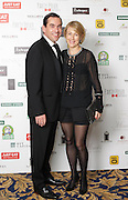 29/9/14***NO REPRO FEE***Pictured are Jonathin and Clodagh Logue at the 11th Q Ball in aid of Spinal Injuries Ireland at The Ballsbridge Hotel last night Pic: Marc O'Sullivan