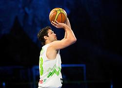 Saso Ozbolt during FIBA Europe Eurobasket 2013 draw ceremony on November 18, 2012 in Postojna cave, Postojna, Slovenia. (Photo By Vid Ponikvar / Sportida)