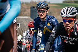 Peloton with rider of Aqua Blue Sport during the UCI WorldTour 103rd Liège-Bastogne-Liège from Liège to Ans with 258 km of racing at Cote de Saint-Roch, Belgium, 23 April 2017. Photo by Pim Nijland / PelotonPhotos.com | All photos usage must carry mandatory copyright credit (Peloton Photos | Pim Nijland)