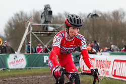 Rachel Lloyd (USA), Women, Cyclo-cross World Cup Hoogerheide, The Netherlands, 25 January 2015, Photo by Pim Nijland / PelotonPhotos.com