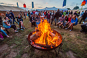 Henham Park, Suffolk, 18 July 2019. The Solas area in teh woods - The 2019 Latitude Festival.