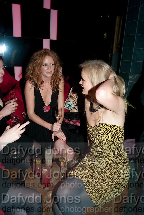 OLIVIA INGE; ALEXIA INGE, The Tatler Little Black Book party. Chinawhite club. London. 21 November 2009